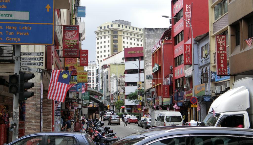 クアラルンプールのインド街