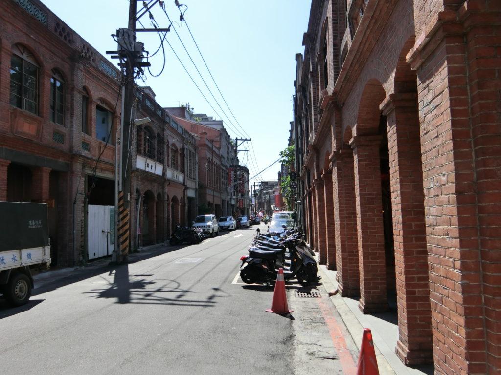迪化街の通り