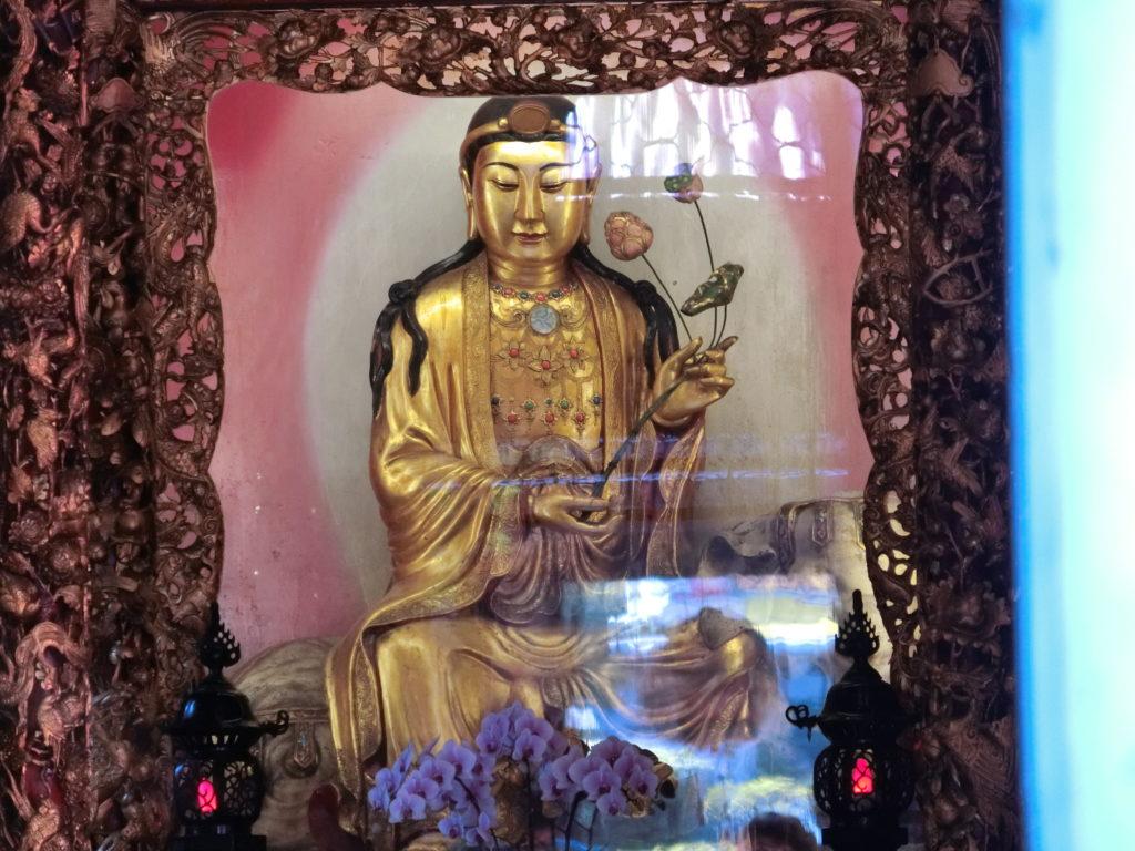 龍山寺の仏像