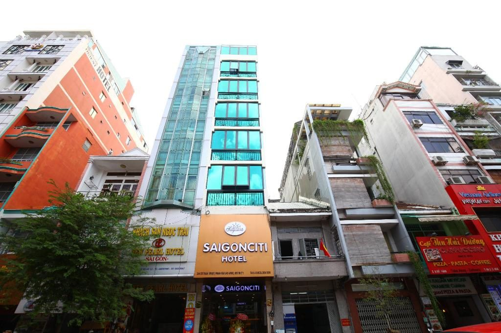 サイゴンシティホテルの外観