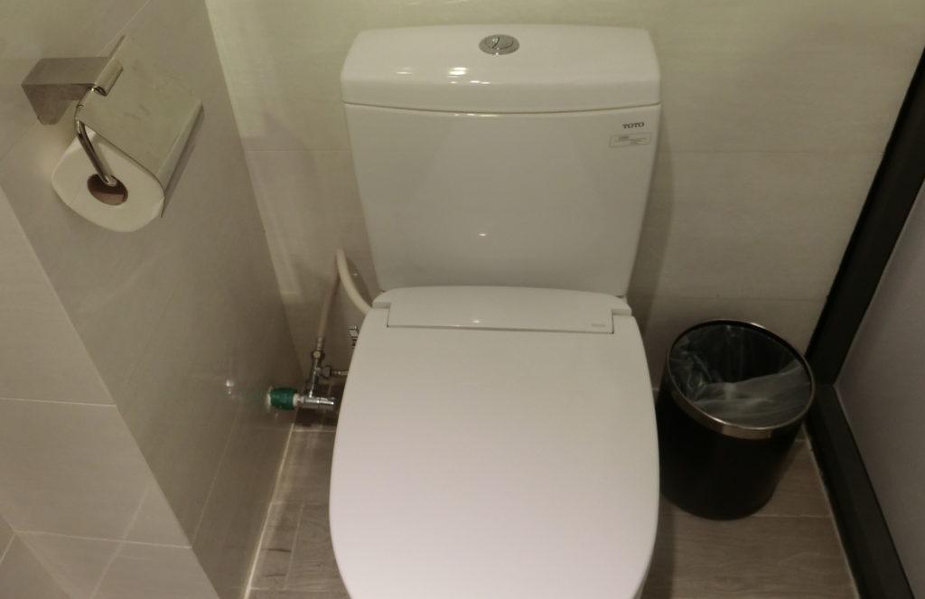 サイゴンシティホテルのトイレ