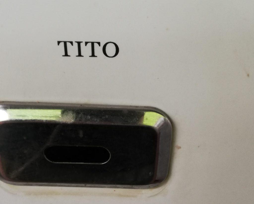 TITOのトイレ