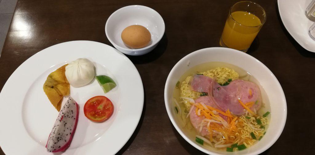 サイゴンシティホテルの朝食