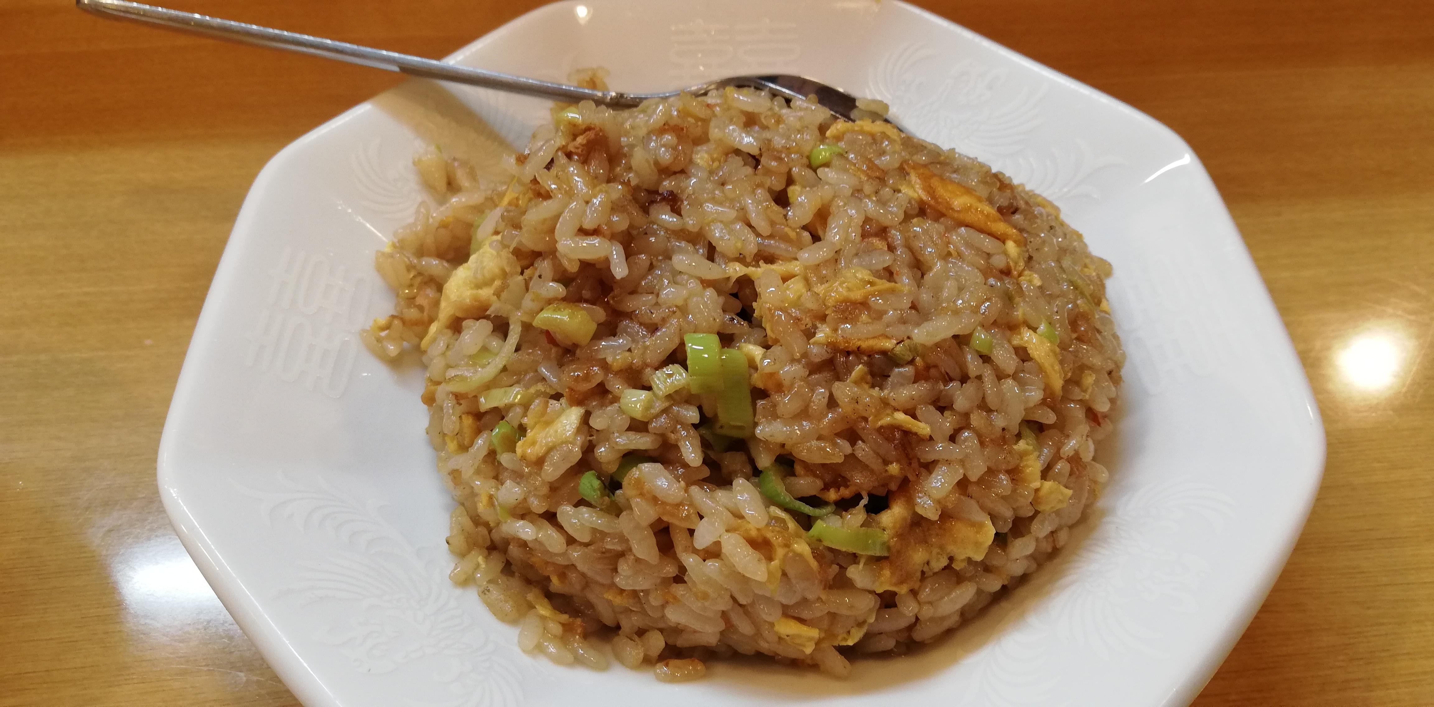 中華料理金華のチャーハン