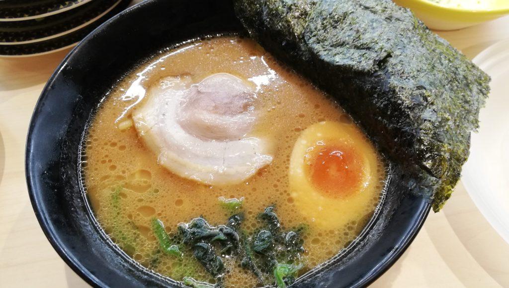 はま寿司の横浜家系ラーメン