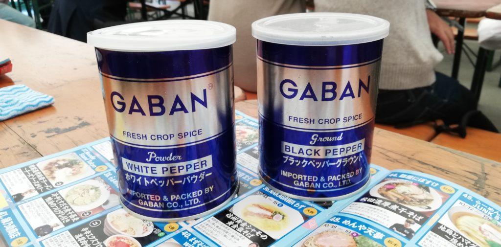 大つけ麺博2019のGABAN