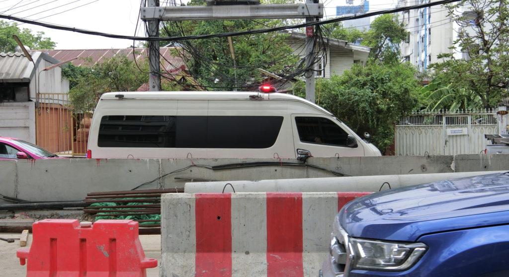 タイの緊急車両