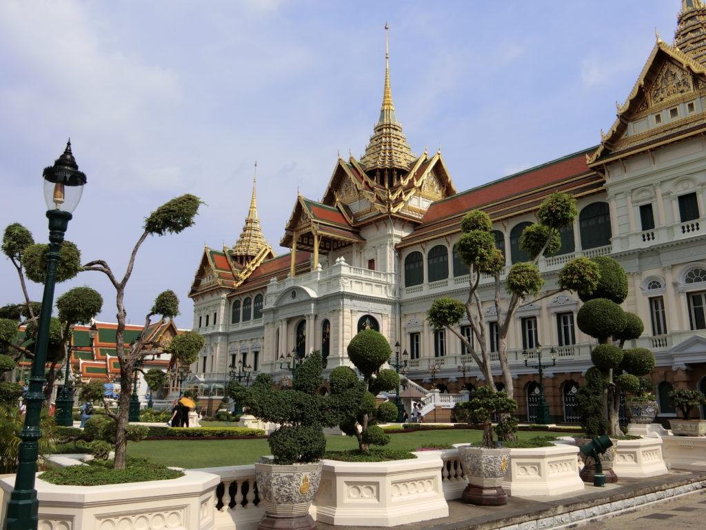 タイ王宮のチャックリーマハープラサート宮殿