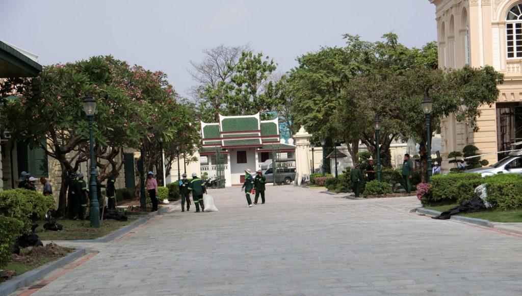 ボロマピマーン宮殿の敷地