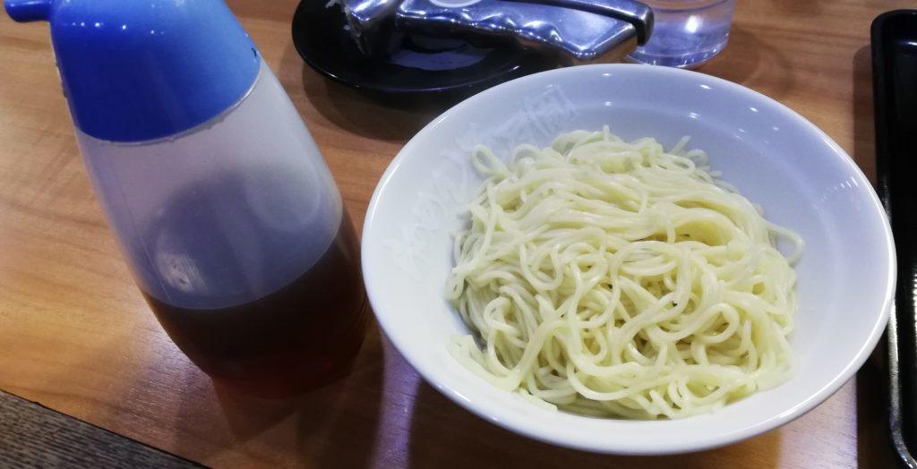 久留米とんこつ丸星ラーメンの替え玉