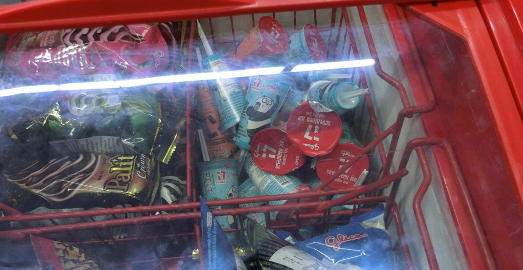 マックスバリューで販売されているセブンティーンアイス
