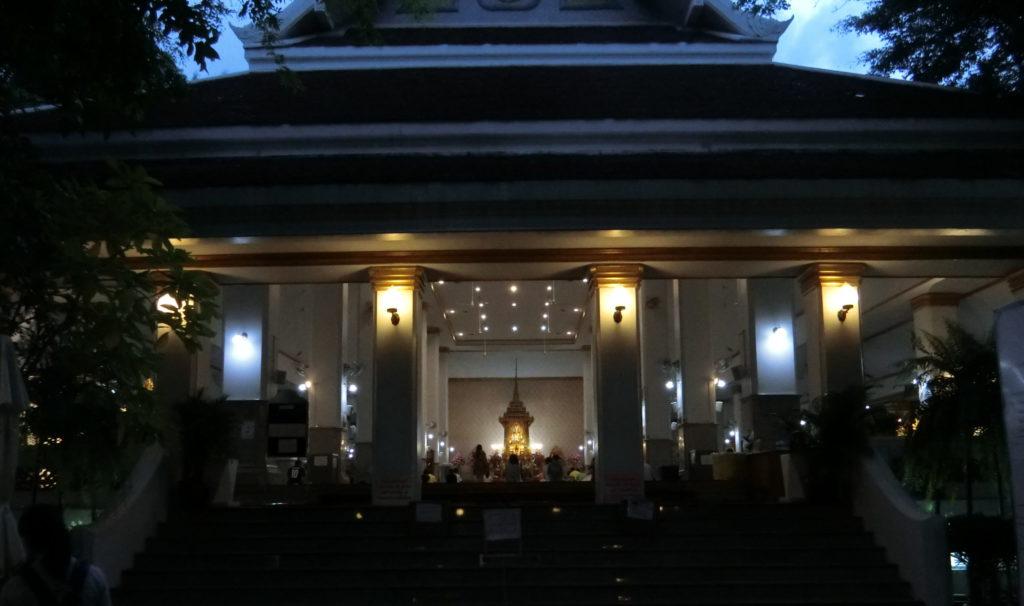 ワット パトゥムワナーラームの礼拝堂?