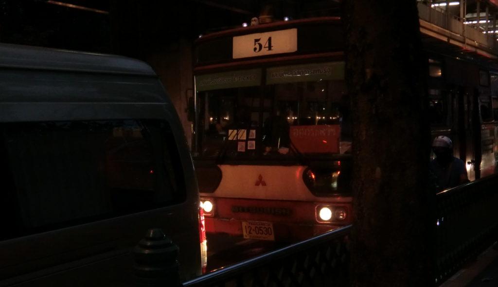バンコクの路線バス?(三菱)