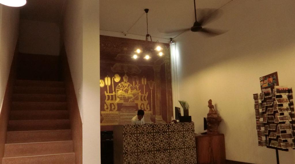 シェムリアップのサラサラホテル(Salasara Hotel)のレセプション