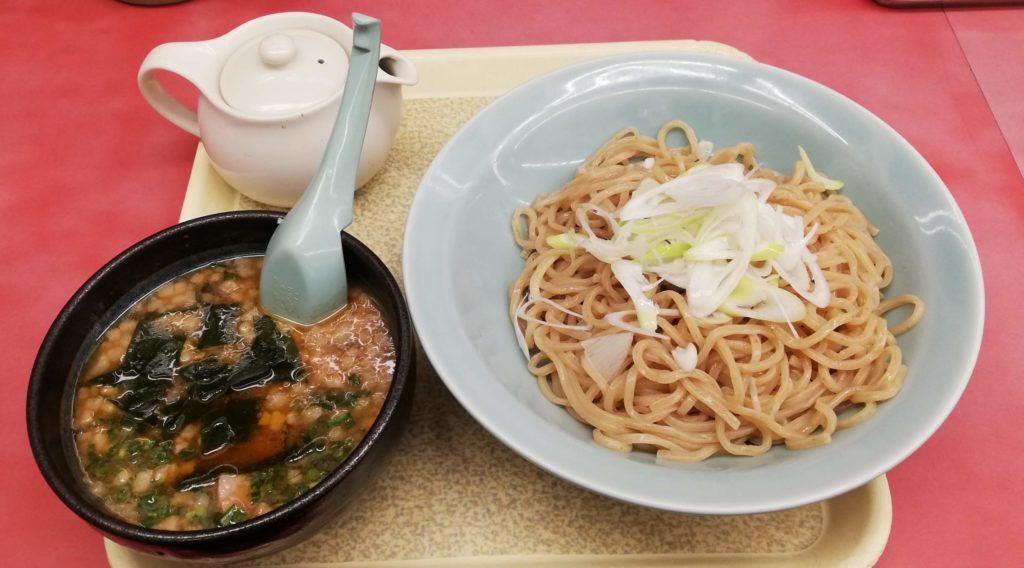 山岡家の海老薫る濃厚あさりつけ麺