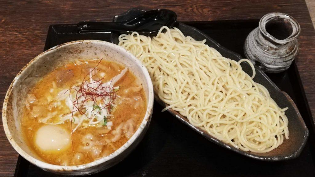 ぱんどら(佐倉)の豚ばらつけ麺味噌大盛